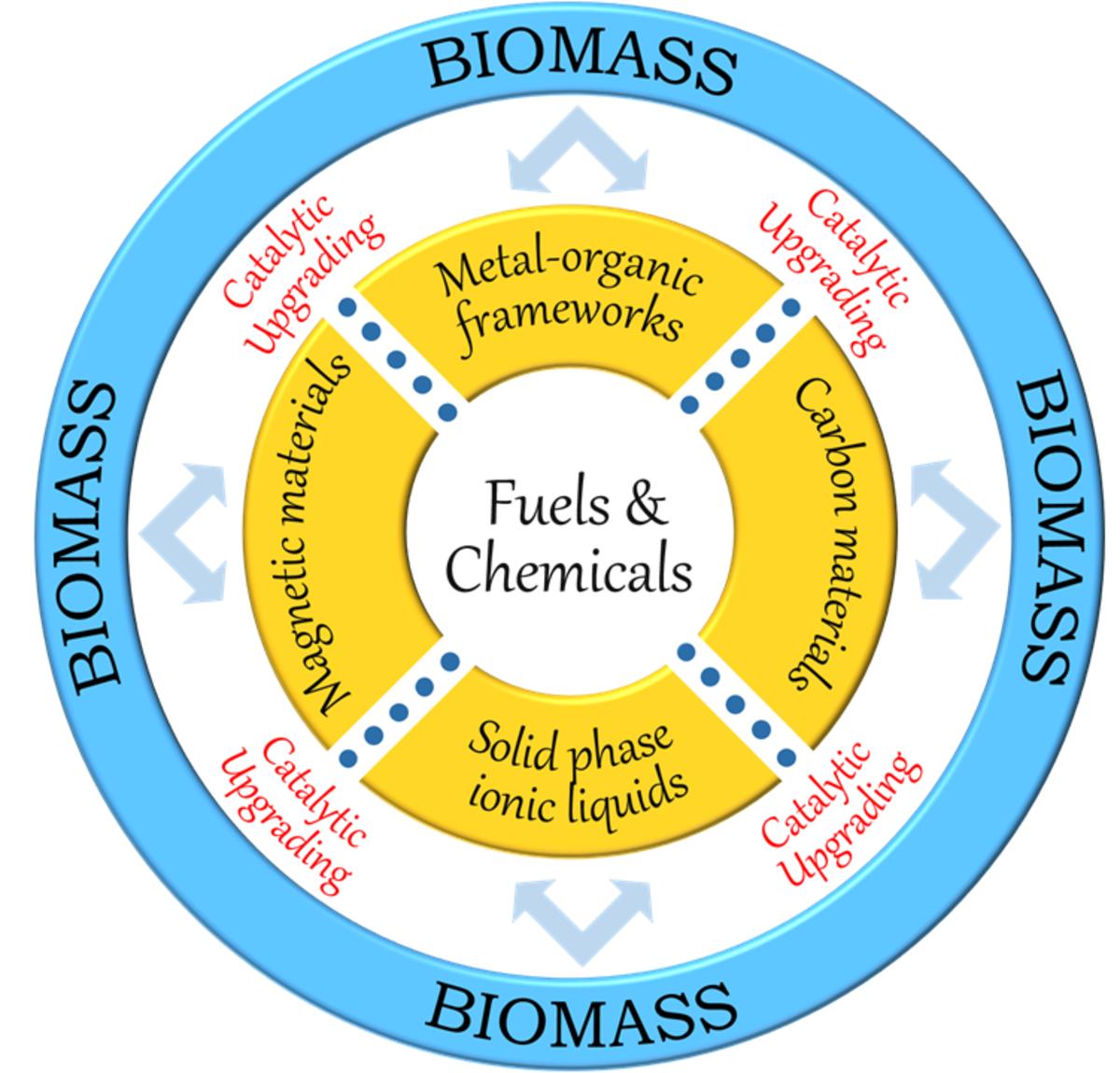 Functionalised heterogeneous catalysts for sustainable biomass valorisation.